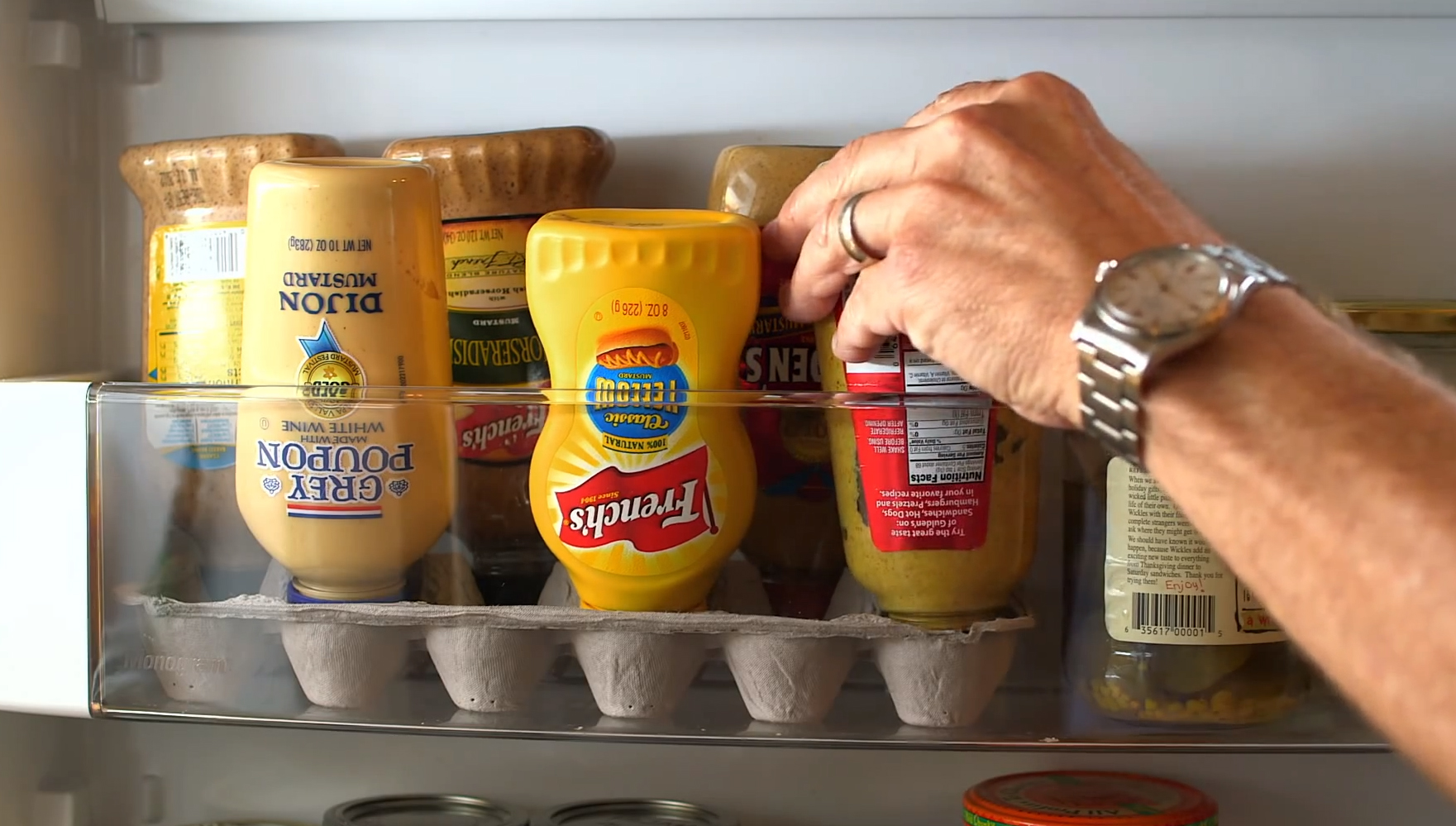 Here S The Perfect Condiment Caddy For Your Refrigerator