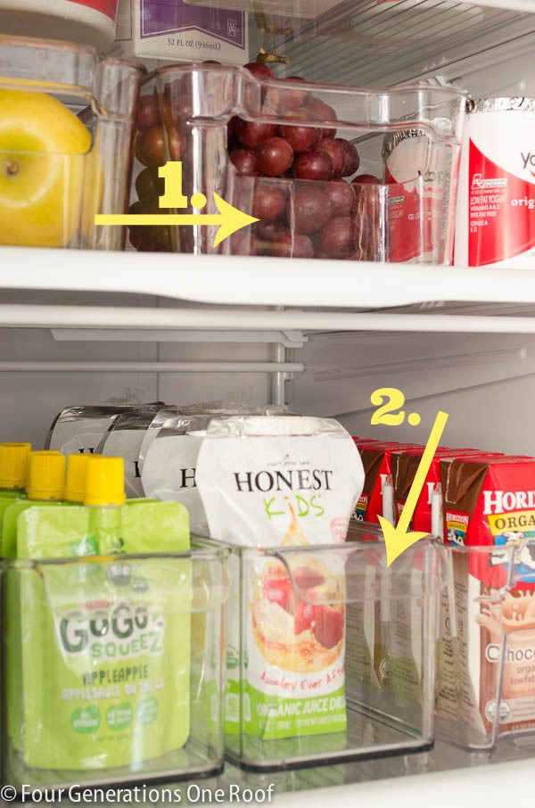 Use Storage Containers For The Best Organized Fridge Ever