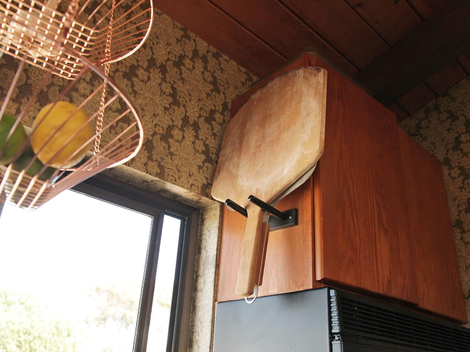 1 Guitar Mount To Solve Pizza Peel Storage Forever