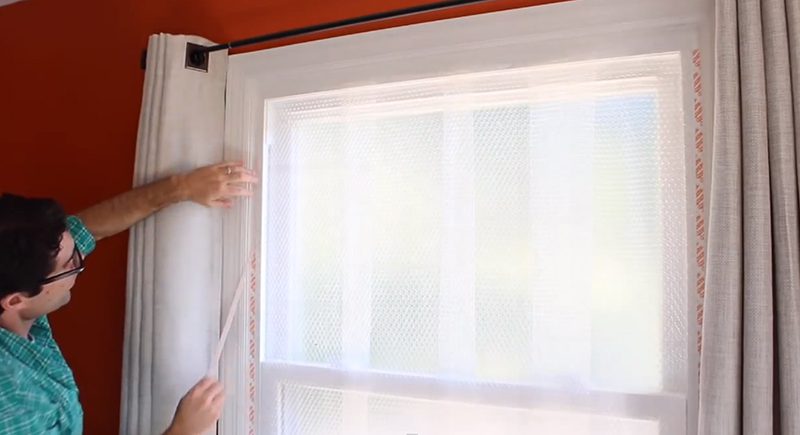 Lower Heating Bills By Weatherizing Your Windows With Bubble Wrap