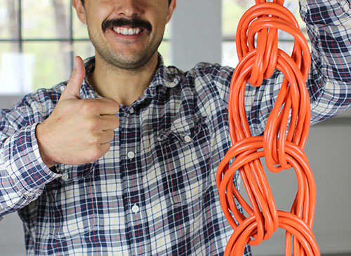 How To Wrap An Extension Cord With No Tangles Appliance