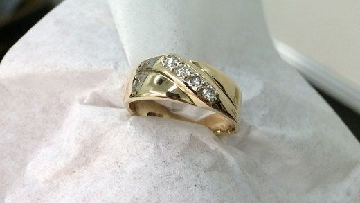 What a Wedding Ring Looks Like After Going Through a Garbage Disposal