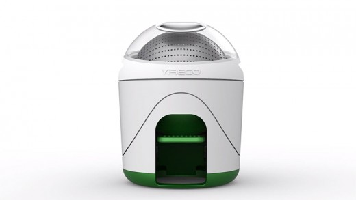 Adorable Washing Machine Works With the Power of Your Foot