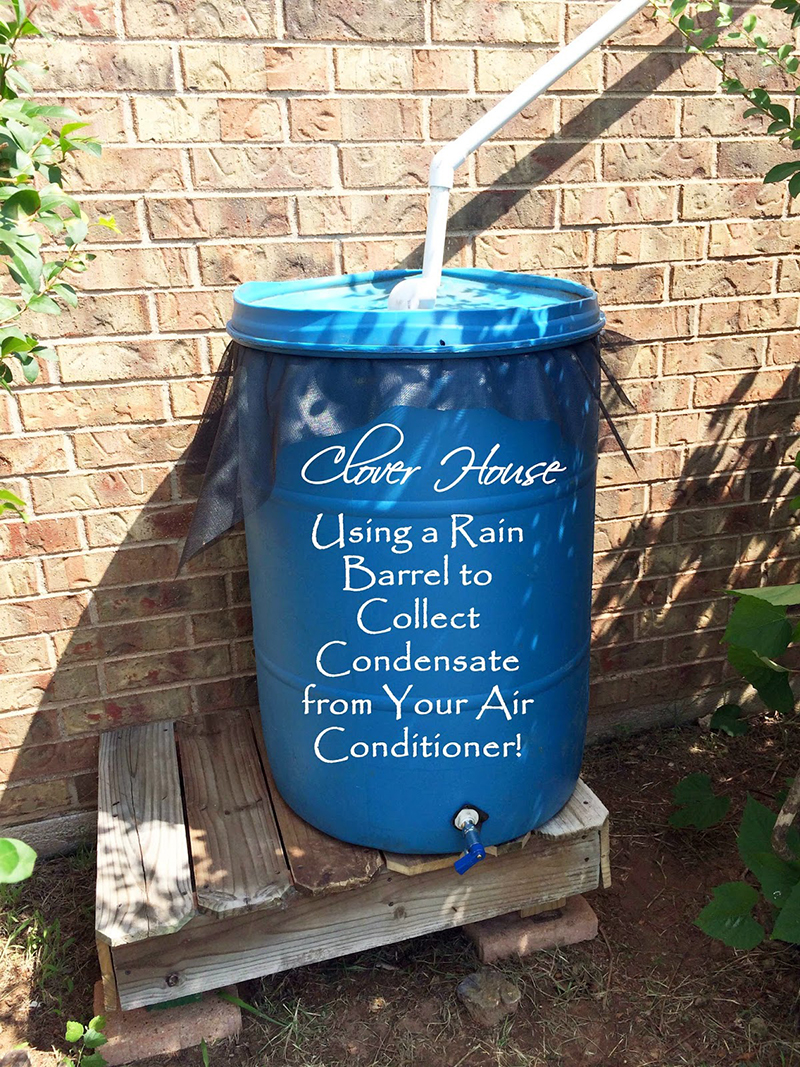 Collect Gallons Of Water From An Air Conditioner With A