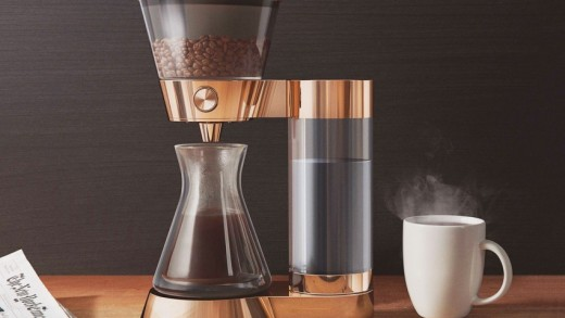 The Poppy Pour Over Makes Brewing Coffee a Breeze with Amazon Dash