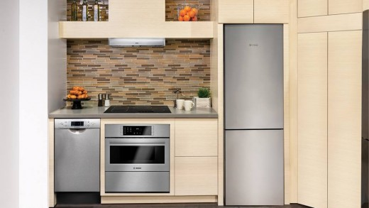 New 24″ Bosch Refrigerator Fits Tiny Kitchens with Big Design