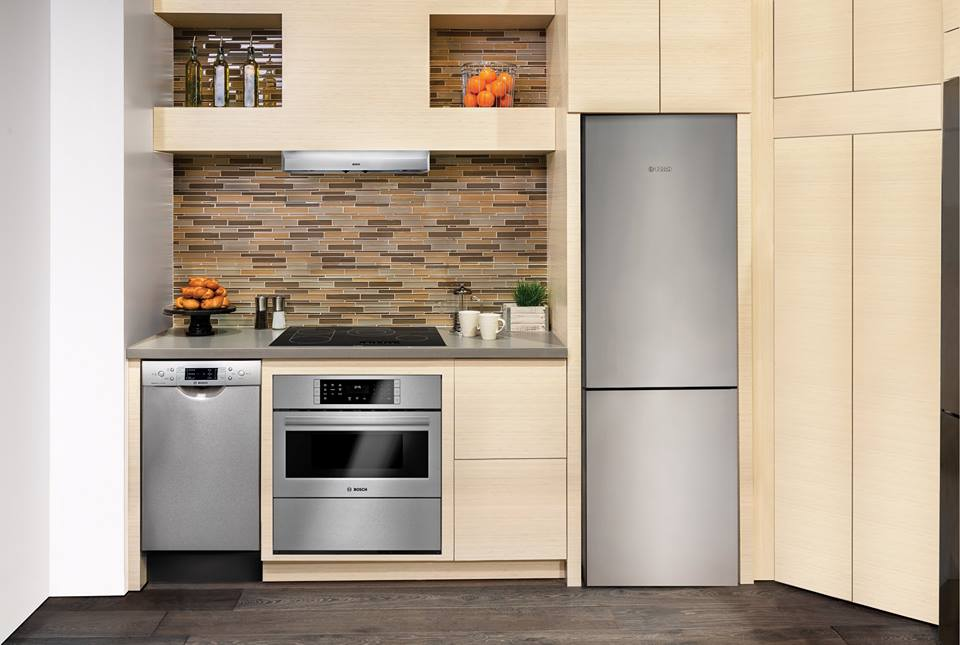 New 24″ Bosch Refrigerator Fits Tiny Kitchens with Big