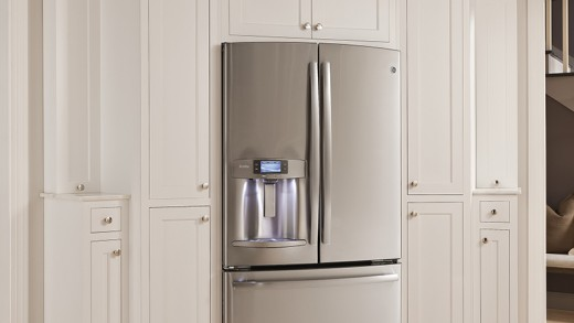 GE Refrigerator Profile Series Measures Water for You