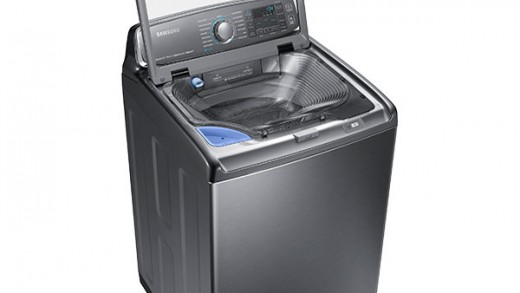 Pre-Wash Clothing with Samsung's Built-In Sink Washing Machine