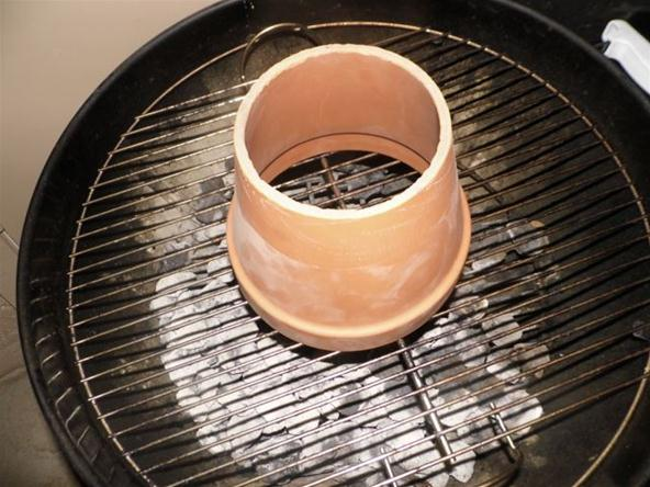 Use a Flowerpot to Change Your Charcoal Grill into a Tandoori Oven