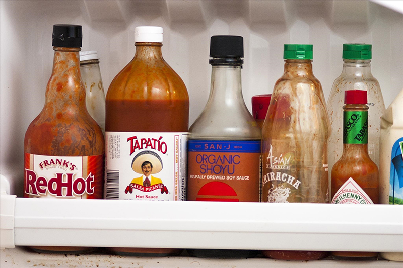 Free Up Refrigerator Door Space By Clearing Out Condiments