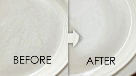 Restore Scratched Dishes with Bar Keepers Friend