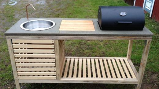 Build a Backyard Portable Kitchen for Less Than $1000