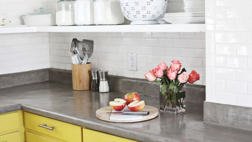 Upgrade Your Kitchen with a No-Pour Concrete Countertop