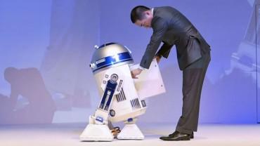 R2-D2 is a Personal Sidekick Refrigerator