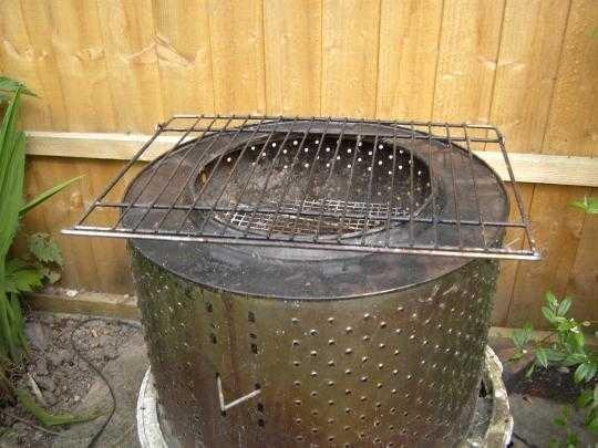 Turn a Broken Washing Machine into a BBQ Grill