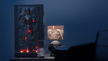 Chill drinks or Keep Food Warm in This Han Solo Mini-Fridge