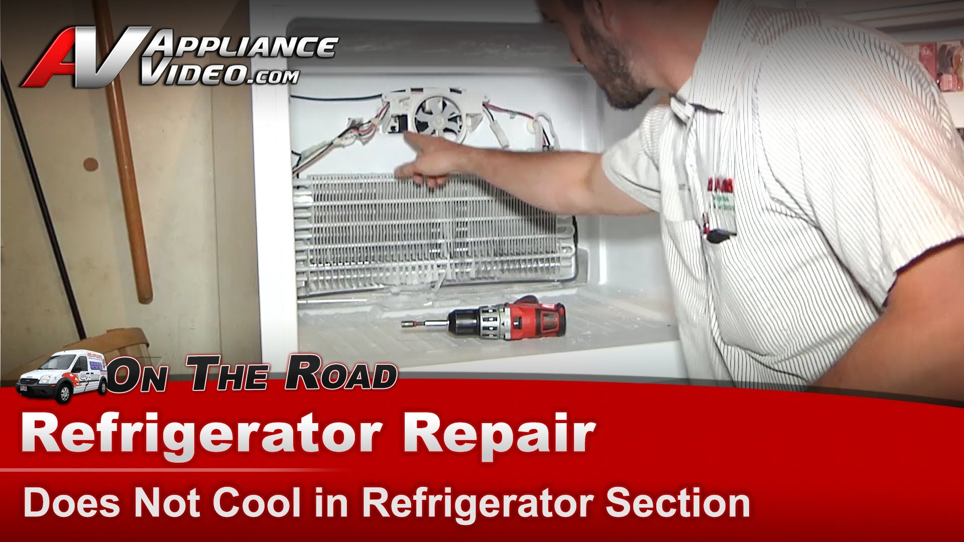 Amana A2rxnmfww01 Refrigerator Repair Does Not Cool In