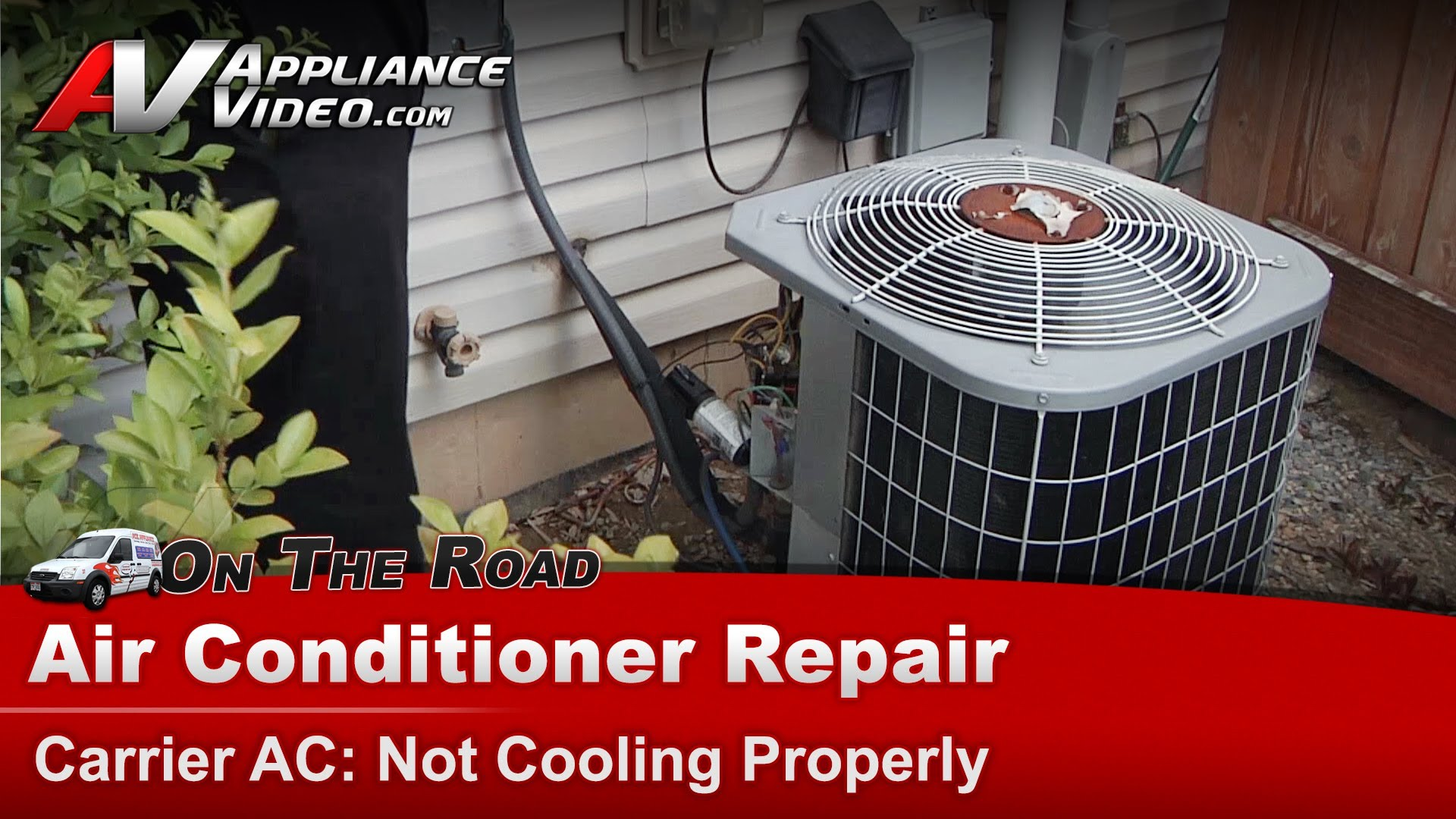 Carrier 38ckc036350 Air Conditioner Repair Not Cooling Properly Capacitor Liance Video