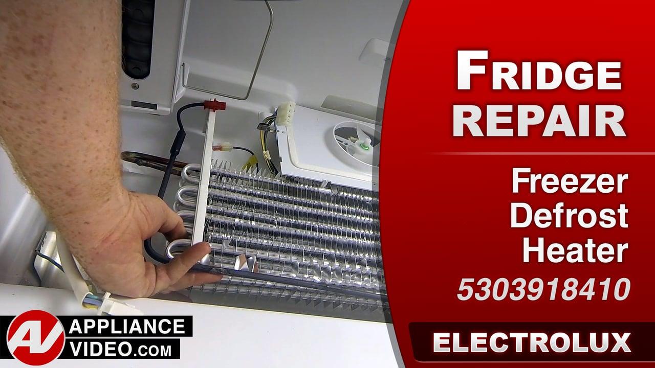 Electrolux EI23BC35KS Refrigerator – Frost in Freezer – Freezer Defrost Heater