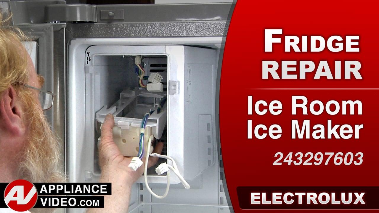 Electrolux Ei23bc35ks Refrigerator No Ice Produced Ice