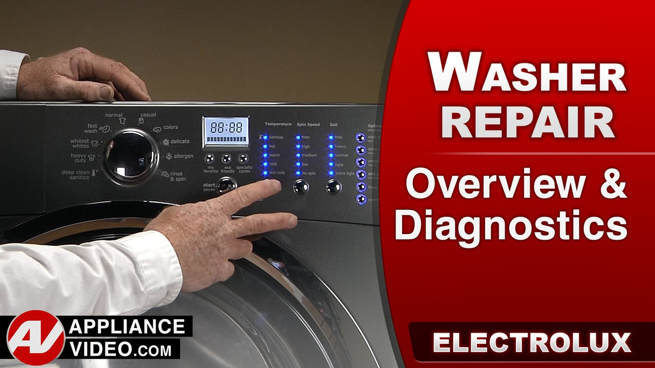 Electrolux EIFLS60LT Washer – Overview and Diagnostic