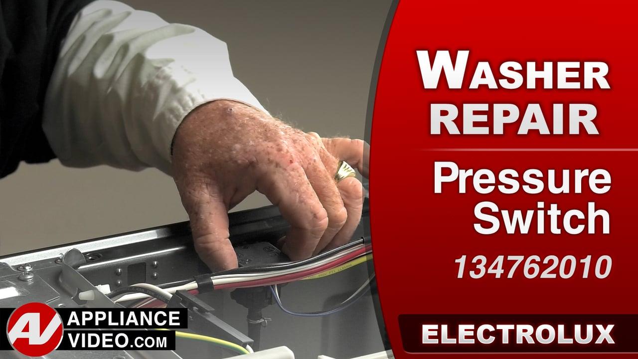 Electrolux EIFLS60LT Washer – Will not fill – Pressure Switch