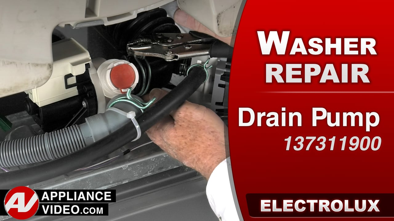 Electrolux Eifls60lt Washer Will Not Drain Drain Pump