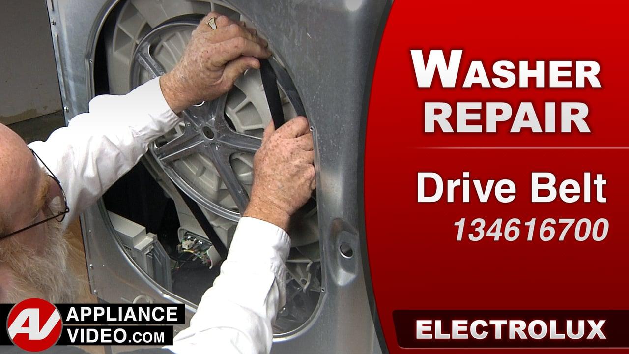 Electrolux EIFLS60LT Washer – Will not spin – Drive Belt