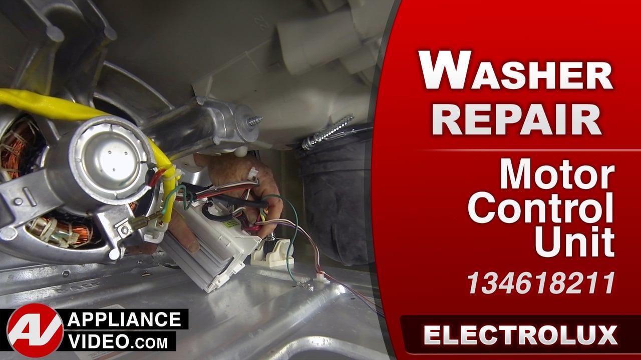 Electrolux EIFLS60LT Washer – Will not run – Motor Control Unit