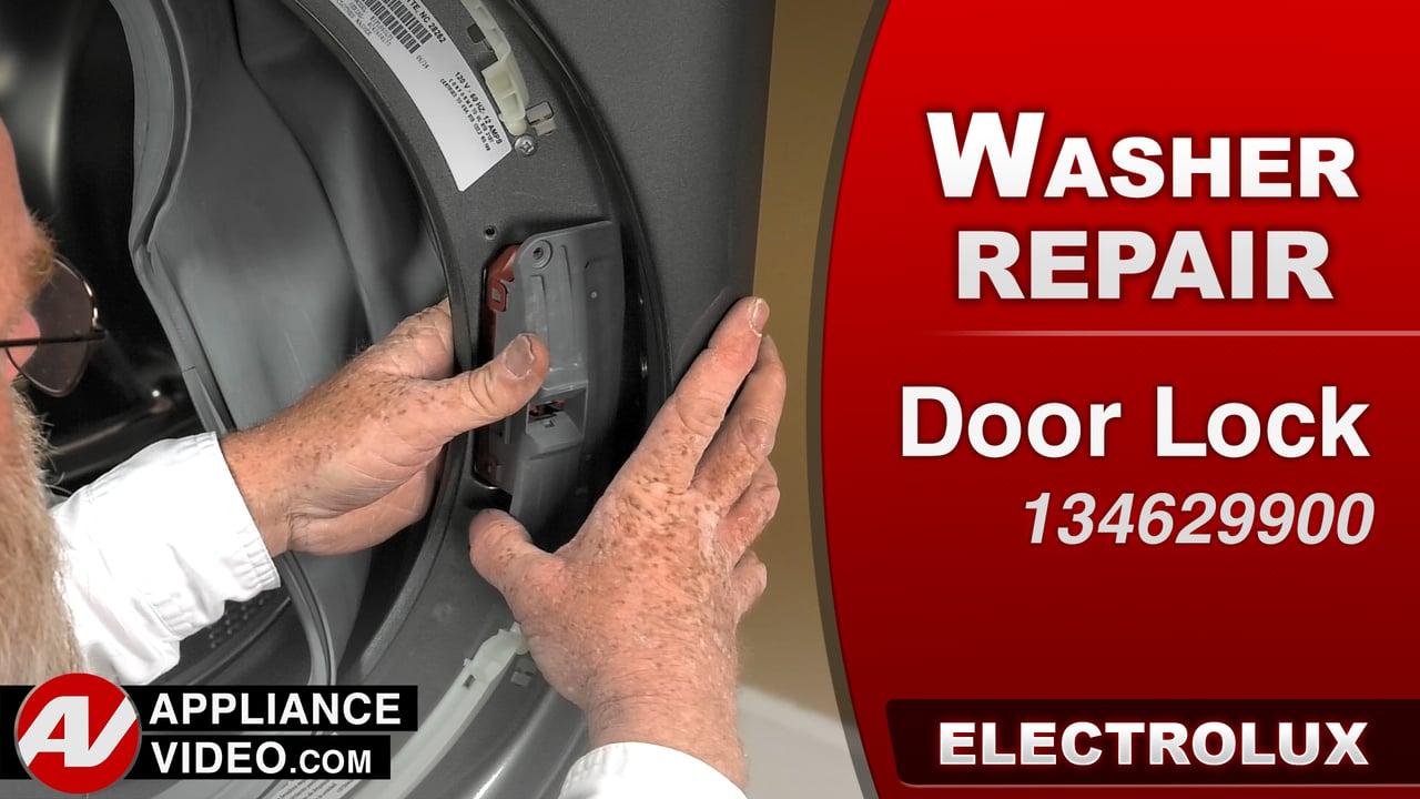Electrolux EIFLS60LT Washer – Will not run – Door Lock