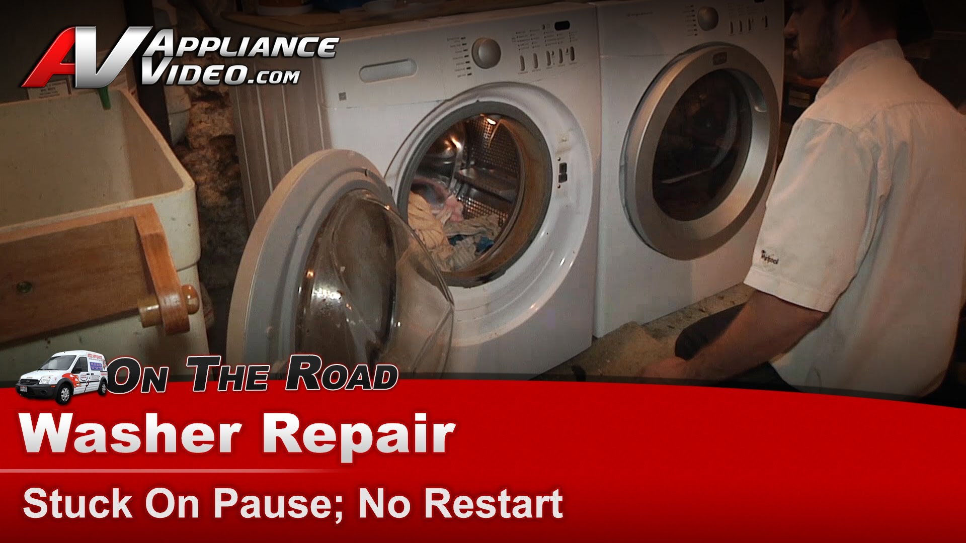 Frigidaire ATF7000FS1 Washer Repair – Stuck on pause, no restart – Door  Lock | Appliance Video