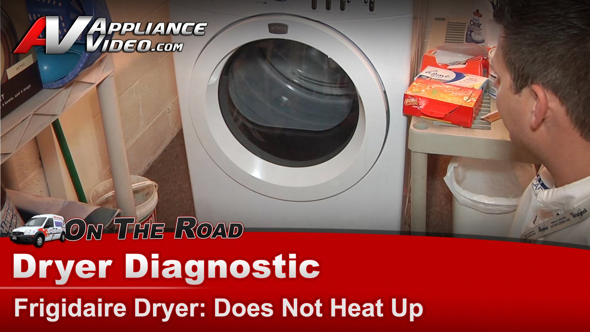 Frigidaire Faqe7011kwo Dryer Diagnostic Does Not Heat Up