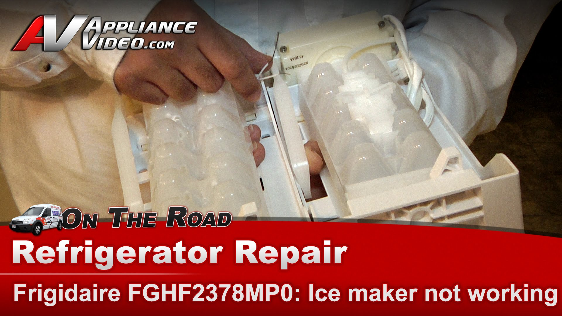 Frigidaire FGHF2378MP0 Refrigerator Repair – Ice Maker Not Working |  Appliance Video