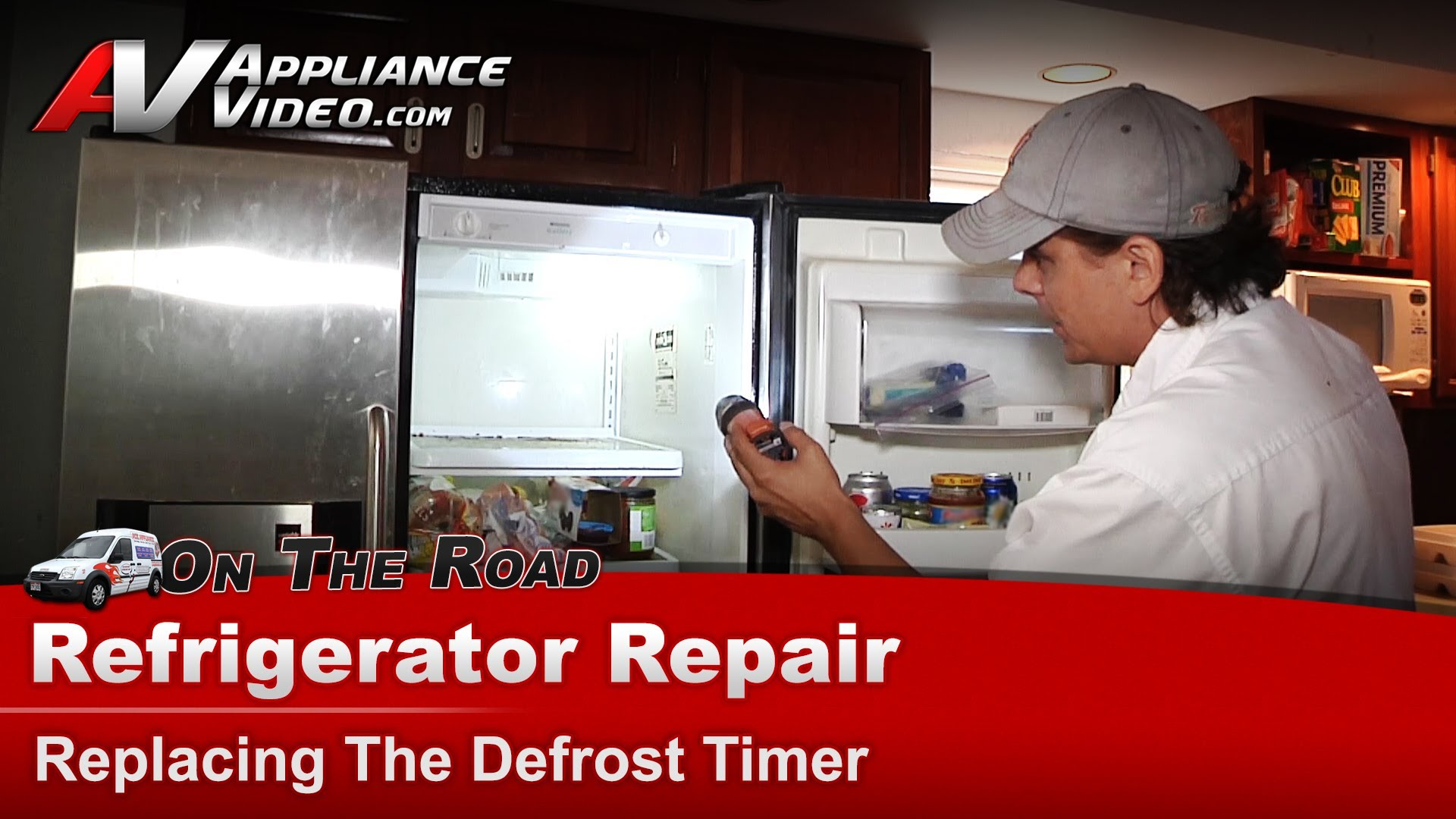 Frigidaire Frs24wscb1 Refrigerator Repair Replacing The
