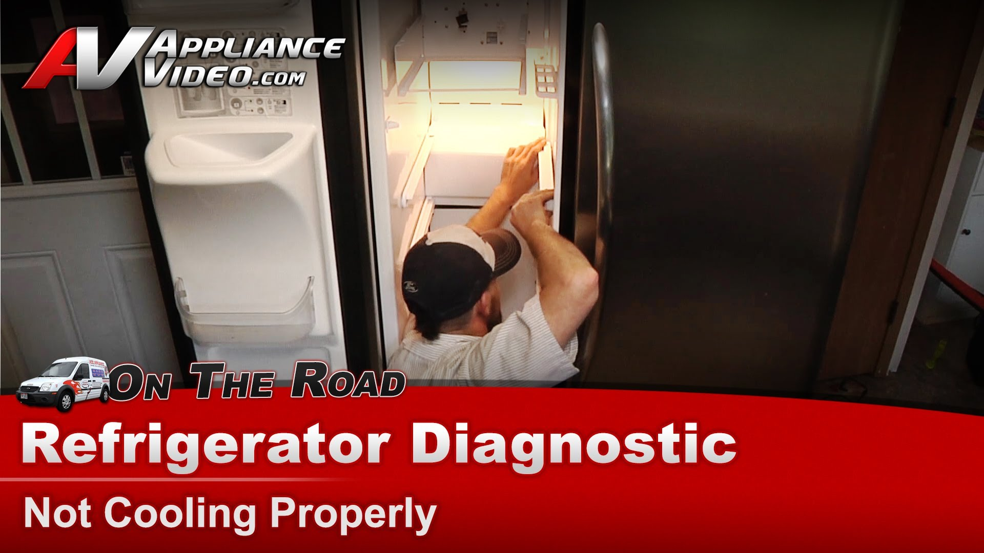 Frigidaire Frs26lf8cs1 Refrigerator Diagnostic Not