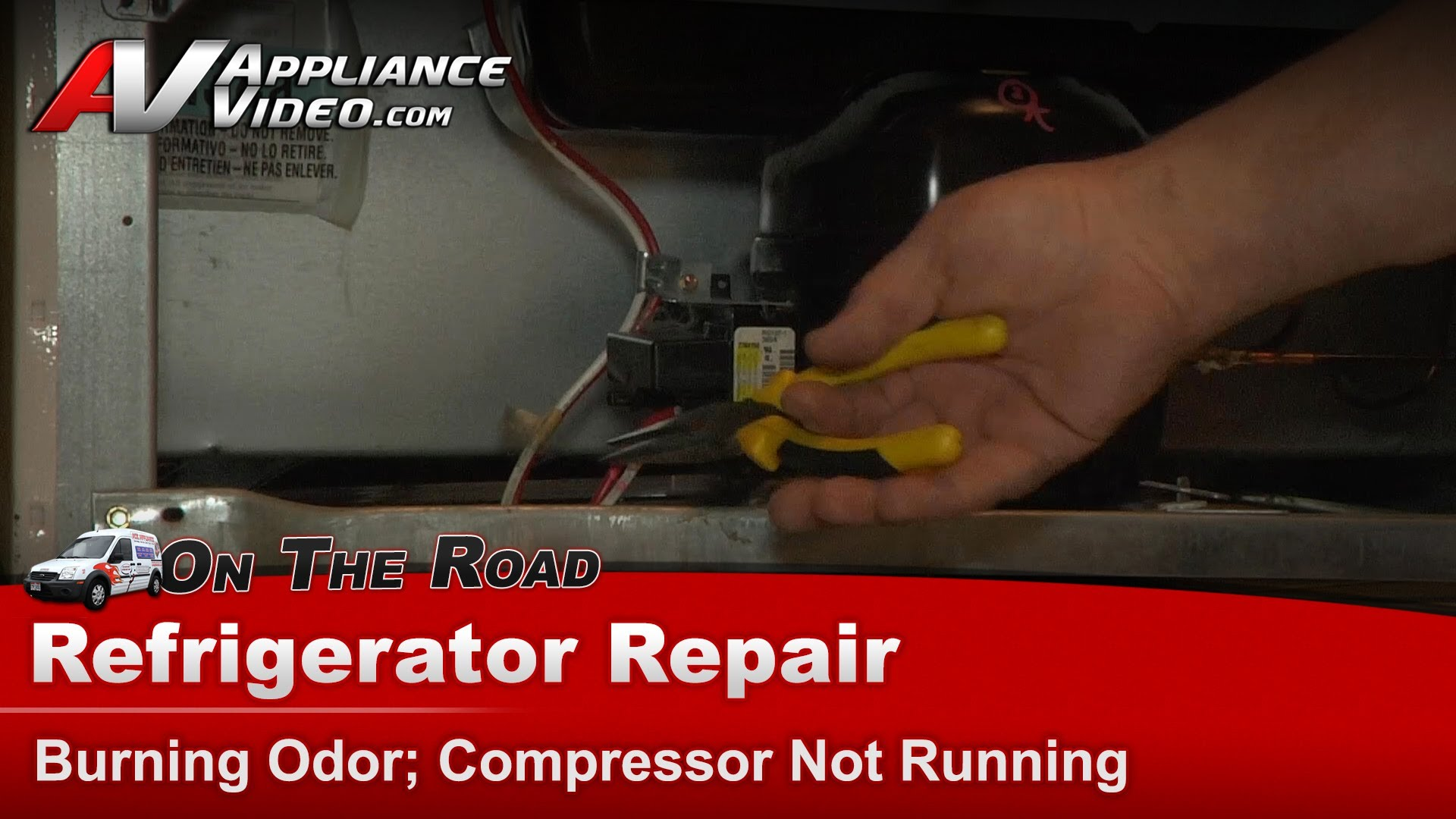 Frigidaire Frs26zgewo Refrigerator Repair  U2013 Compressor Not Running  U2013 Start Capacitor