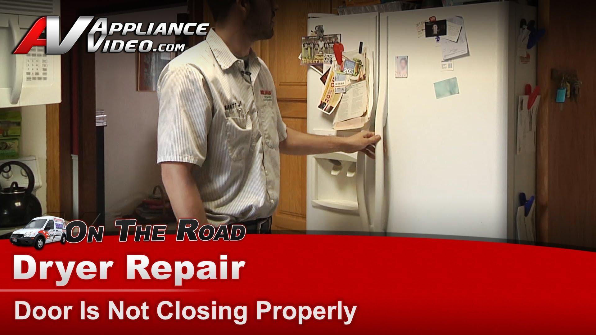 Frigidaire Frs6r4ew2 Refrigerator Diagnostic Door Is Not