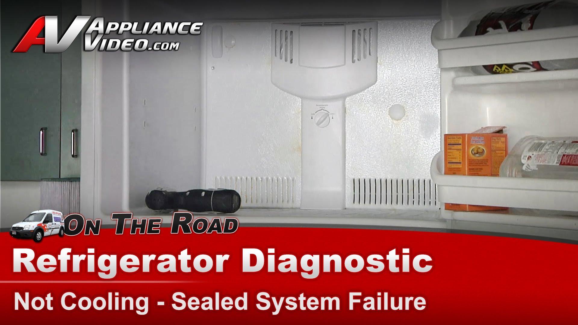 Frigidaire Frt21b4jw3 Refrigerator Diagnostic Not