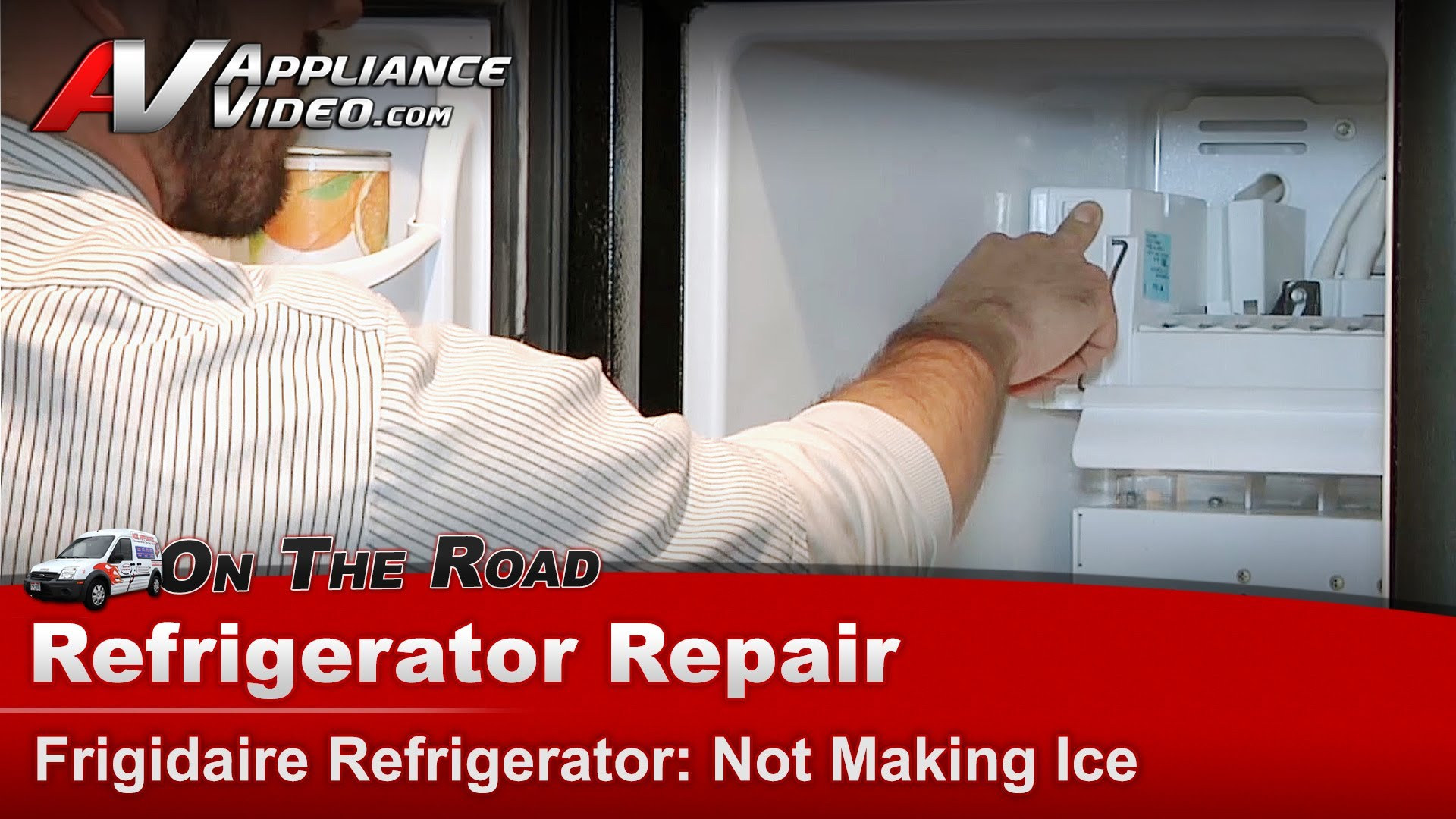 Frigidaire Fsc23r5dbe Refrigerator Repair Not Making Ice