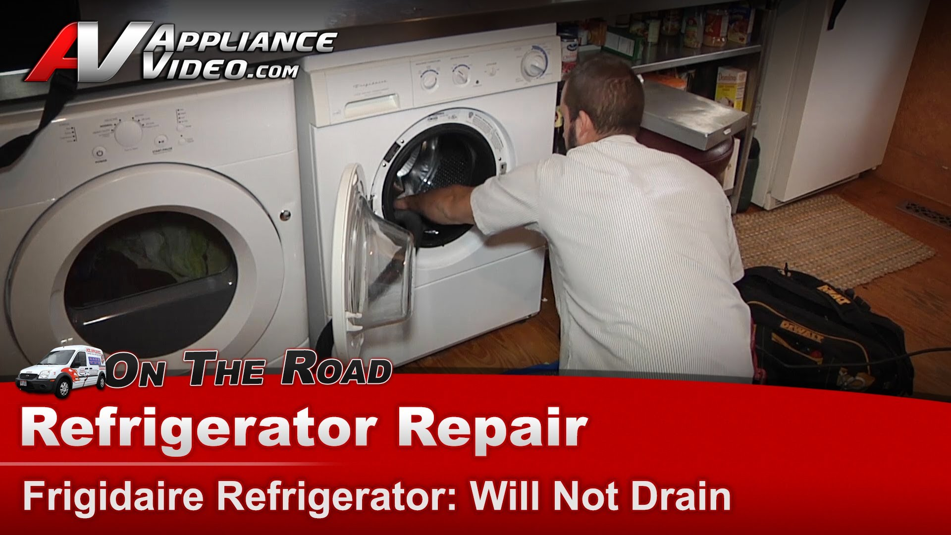 Frigidaire LTF530DS0 Washer Diagnostic and Repair – Will not drain or pump  out – Drain Pump | Appliance Video
