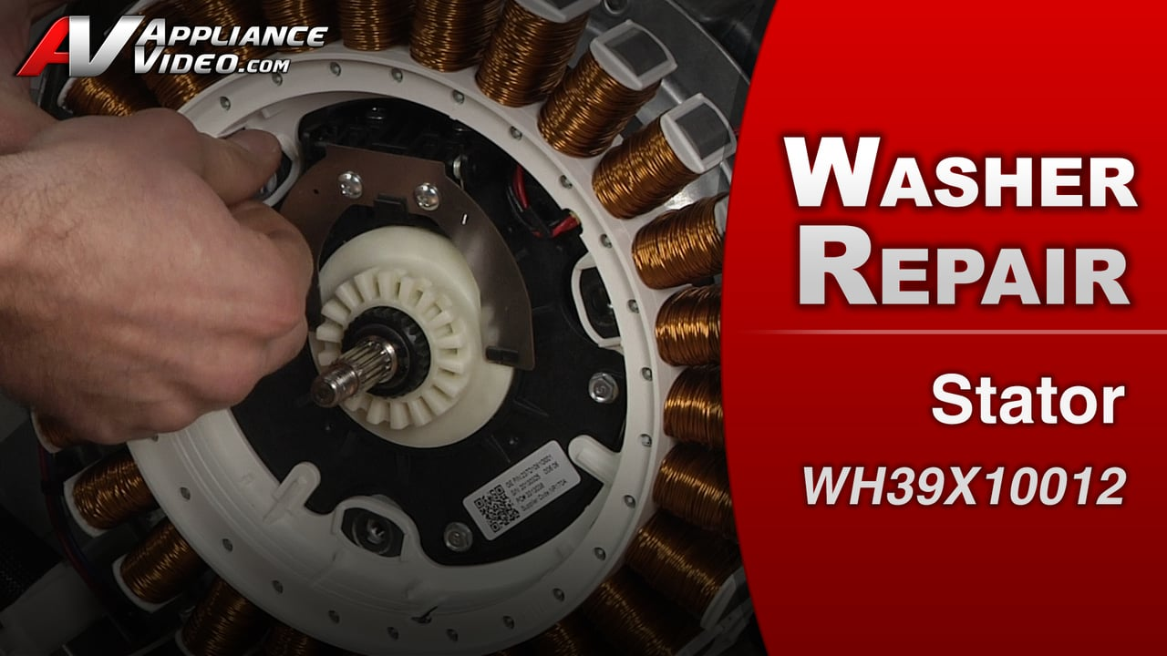 GE GTWS8650DWS Washer – Washer will not spin out – Stator