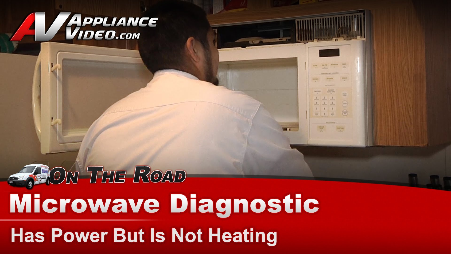 Ge Jdm1630wb004 Microwave Diagnostic Has Power But Is