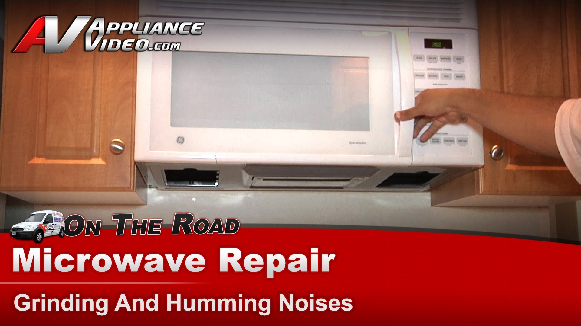 Ge Jvm1540w53 Microwave Repair Grinding And Humming Noises Turntable Motor Liance Video