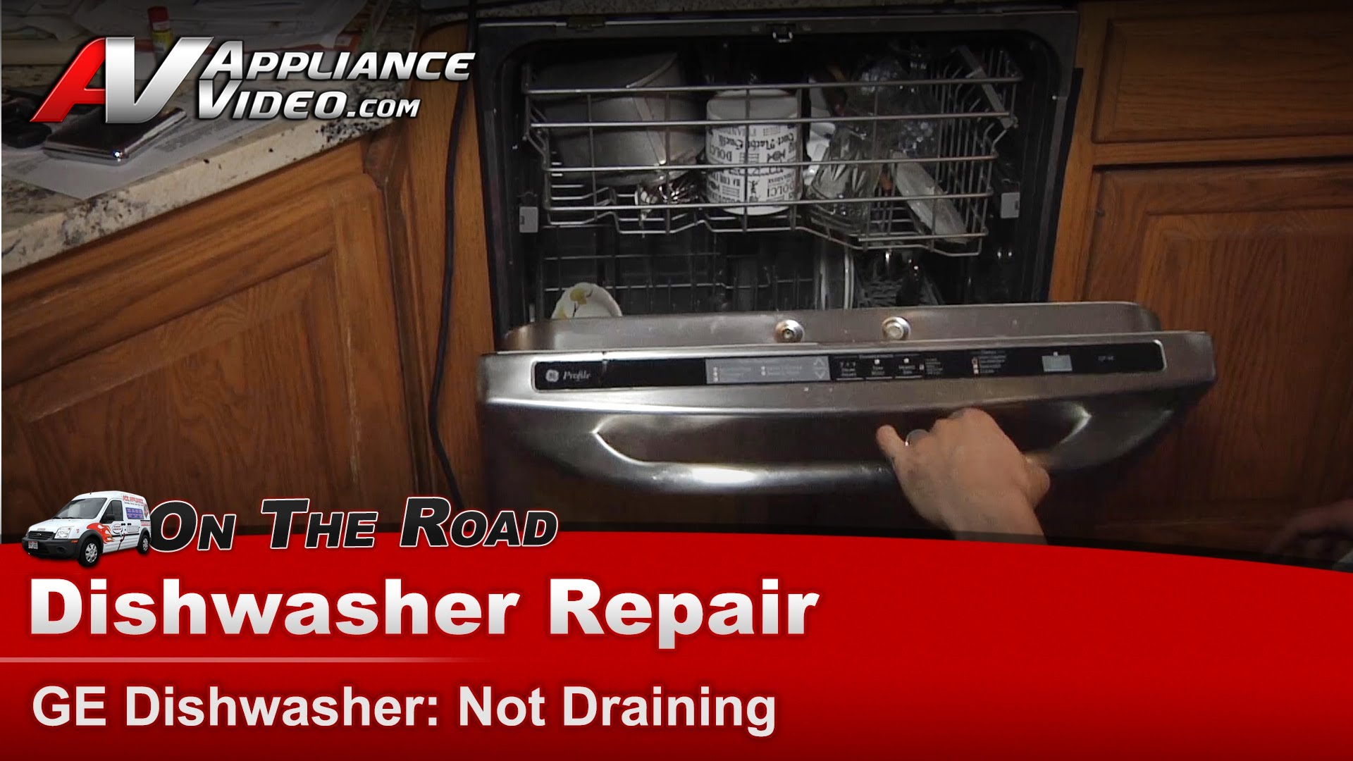 Ge Pdwt480p00ss Dishwasher Diagnostic And Repair Not