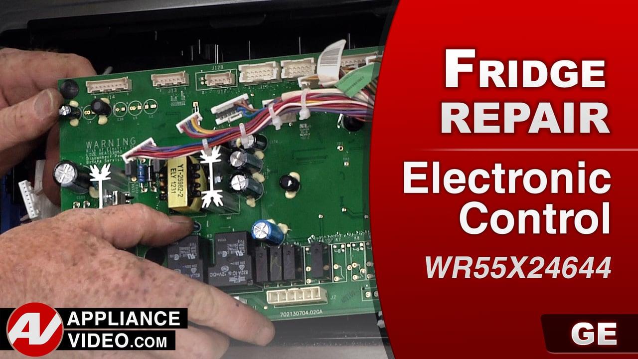 GE PFE27KSDDSS Refrigerator – Compressor will not run – PCB Main Control