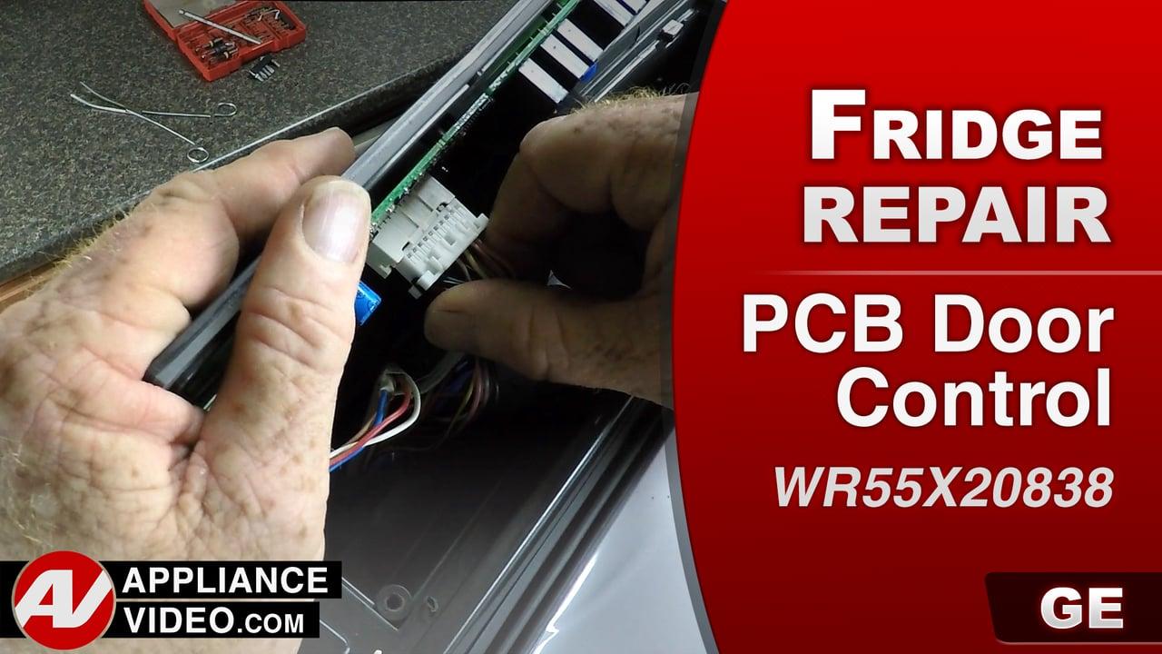 GE PFE27KSDDSS Refrigerator – Dispenser will not work – PCB Door Control