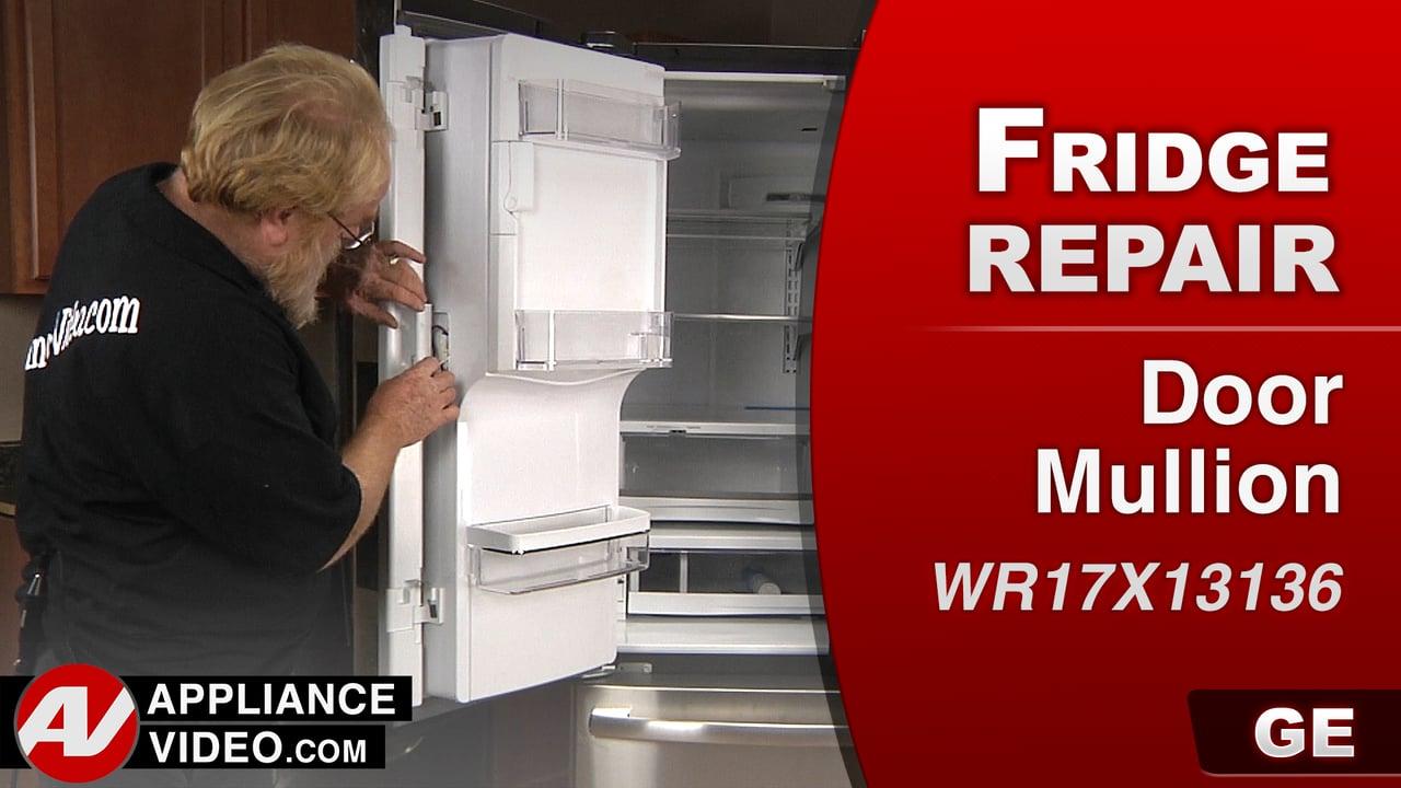 GE PFE27KSDDSS Refrigerator – Doors will not close all the way – Door Mullion