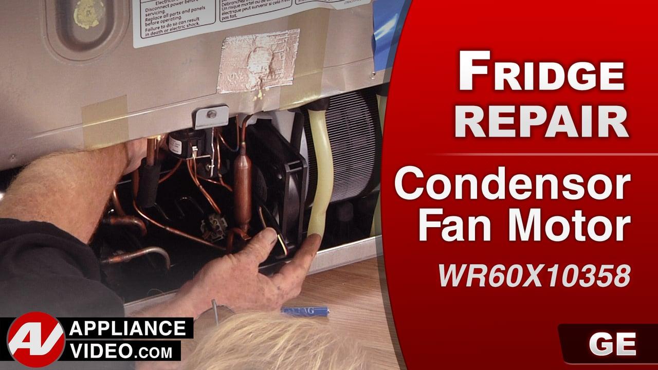 GE PFE27KSDDSS Refrigerator – No Cool – Condenser Motor