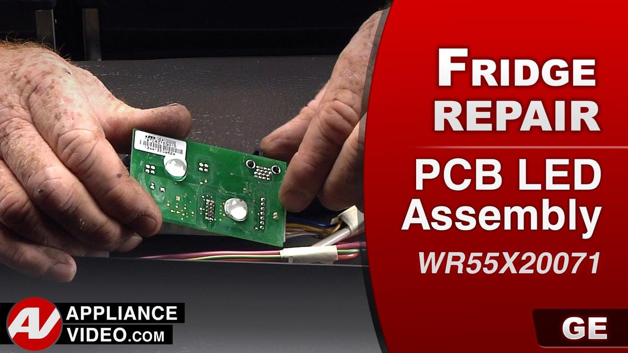 GE PFE27KSDDSS Refrigerator – No interior lights – PCB LED Assembly